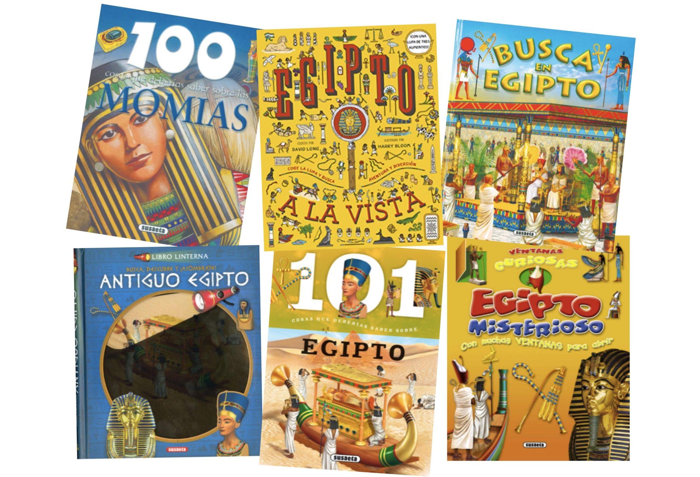 Libros Sobre Egipto Para Niños Y Niñas Las Manos De Mamá
